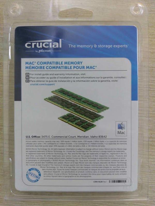 ram laptop crucial ddr3 8gb pc3l